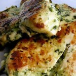 Garlic Chicken Breasts: