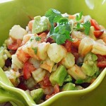 LIME SHRIMP AND AVOCADO SALAD