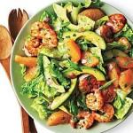 Shrimp, Avocado, and Grapefruit :