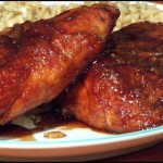 6 chicken thighs or 6 chicken breasts