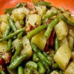 The Amazing Crockpot Ham, Green Beans and Potatoes.