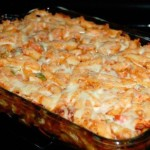 Chicken and Bacon Pasta Casserole