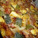Zucchini or Yellow Squash Casserole
