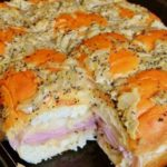 'Hawaiian Baked Ham and Swiss Sandwiches'