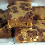 Yummy Chocolate Peanut Butter Bars Recipe.