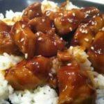 Delicious Bourbon Chicken Recipe.