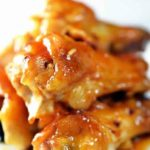 Delicious Chicken Wings With a Spicy Glaze Recipe.