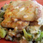 Easiest Chicken, Rice & Veggie Casserole