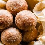 Cinnamon Vanilla Breakfast Protein Bites! (No Bake, Gluten Free, Vegan)
