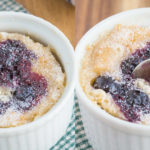 Super Healthy 1 minute Blueberry Muffin (Vegan, Gluten Free, Paleo)