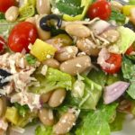 Mediterranean Salad, Skinny and Delicious
