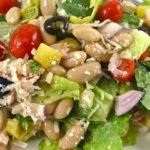 Mediterranean Salad, Skinny and Delicious