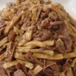 Beef and Noodles with only 3 ingredients