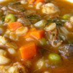 Skinny Beef, Vegetable and Barley Soup (Crock Pot or Stove Top)
