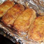 4 boneless pork chops
