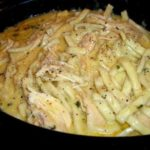 Comforting Chicken & Noodles Crock Pot