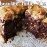 Easy Homemade Chocolate Turtle Cake
