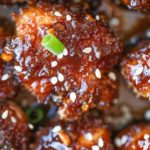 Slow Cooker Sticky Garlic Chicken