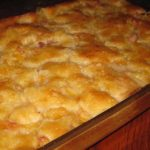 Pie- Peach Cobbler