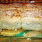 Bisquick, sour cream,