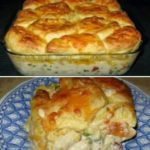 chicken pot pie bubble up