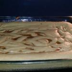 Cinna-bun Cake in the oven!