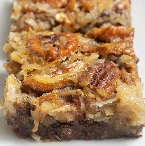 German Chocolate Pecan Pie Bars Best Cooking Recipes In