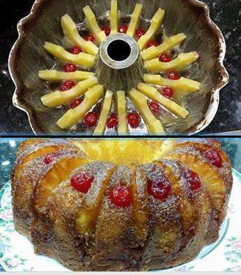 Pineapple Upside Down Bundt Cake Best Cooking Recipes In