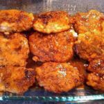 CRUNCHY HONEY GARLIC PORK CHOPS: AND YOU CAN USE CHICKEN