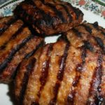 GRILLED BBQ MEATLOAF BURGERS