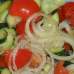 Super Easy And Delicious Creamy Cucumber Tomato Salad