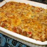 Stuff Me Silly Stuffed Pepper Casserole!