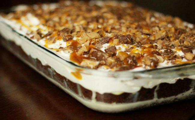 A SLICE OF HEAVEN CAKE!