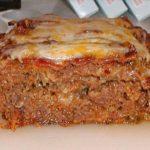 Amazing Cheddar Meatloaf