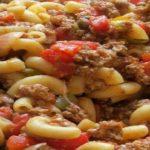 Beefy Pasta Casserole