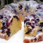 Blueberry Bundt Cake with Lemon Glaze