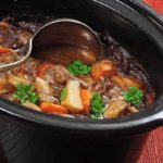 CROCK POT SAVORY BEEF