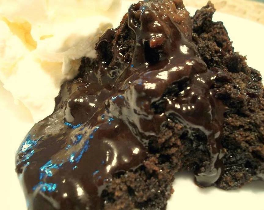Chocolate Lava Crockpot Cake Video