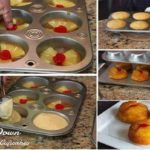 Check these out!! Personal Sized Pineapple Upside Down Cupcakes!