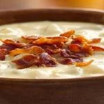 Cheesy Potato Bacon Crockpot Soup