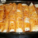 Chicken and Rice Enchiladas