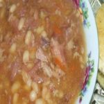 Crazy-Easy Slow Cooker Navy Bean And Ham Soup – It Melts In Your Mouth!