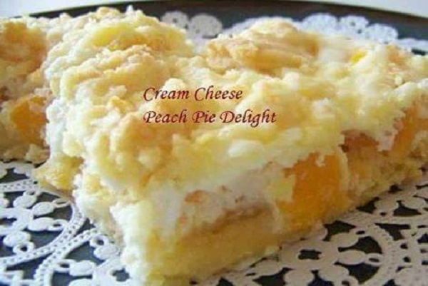 Cream Cheese Peach Pie Delight Best Cooking Recipes In