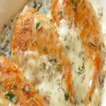 Creamy and Simple Herb Baked Tender Chicken Drenched in Spices