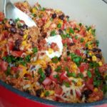 Crock Pot Chicken Burrito Bowls! So Easy!
