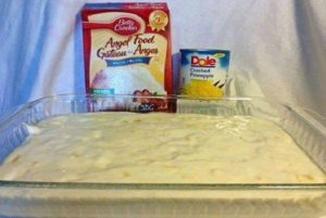 Hawaiian Delite Cake--ONLY 2 INGREDIENTS