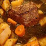 Last Minute Baked Beef Stew