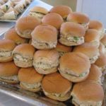 MINI CHICKEN SALAD SANDWICHES