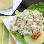 Pineapple-Pecan Chicken Salad