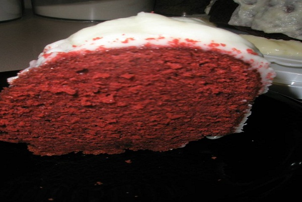 Red Velvet Pound Cake Best Cooking Recipes In The World